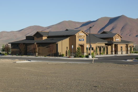 Winger's Roadhouse and Casino, right next to the New Frontier RV Park and Village